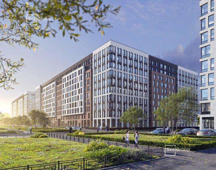 Setl Group строит вторую очередь Svetlana Park в Выборгском районе петербург, выборгский район, недвижимость, благоустройство