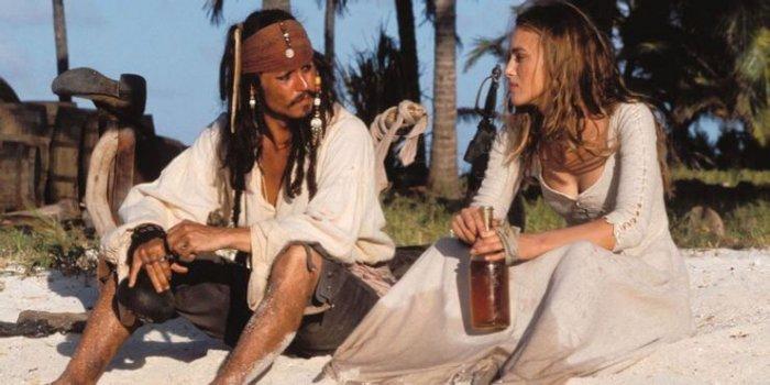 Джонни Депп неожиданно высказался о поцелуе с Кирой Найтли в «Пиратах Карибского моря» кира найтли, джонни депп, фильм