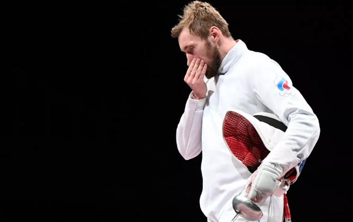Российские шпажисты стали серебряными призерами Олимпийских игр в Токио спорт, олимпиада, серебро