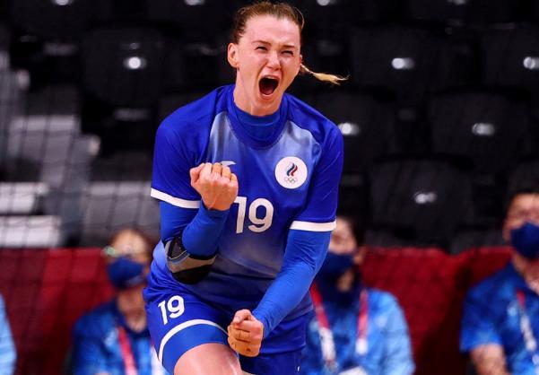 Российские гандболистки вышли в финал Олимпиады рф, олимпиада, спорт